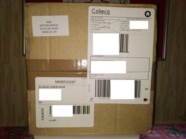 """unboxing de la Box beauté pour homme """"L'Escapade"""" en édition limitée par My SweetieBox @ Tests et Bons Plans"""