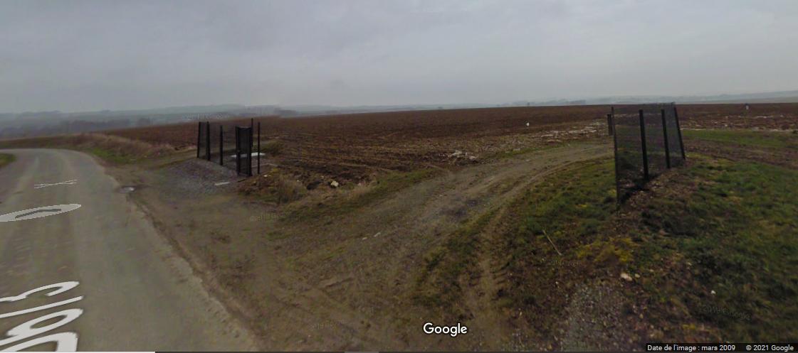 Photo Google street view : le réservoir est bien là pourtant