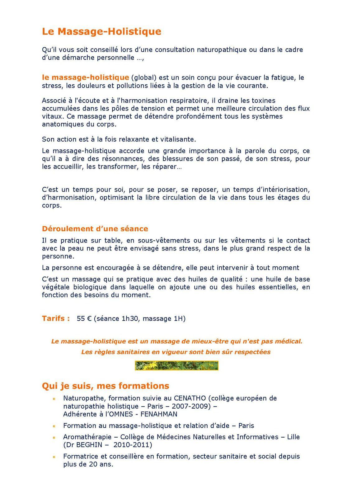 EMMANUELLE HUBLART/NATUROPATHE,PRATICIENNE DE SANT'E