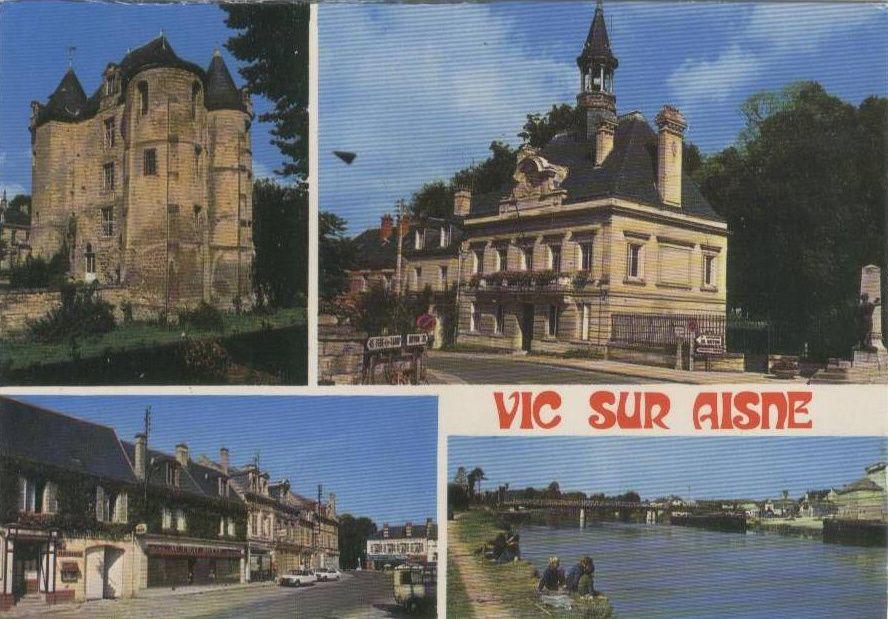 Album - le village de Vic sur Aisne, le Château