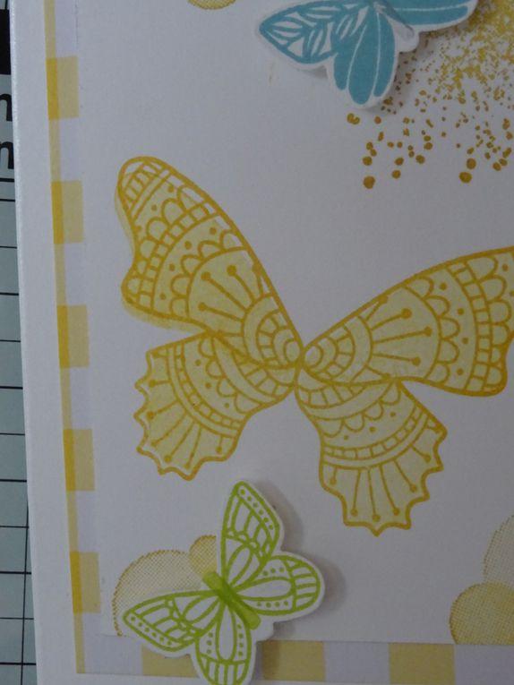 Cartes Gala de Papillons