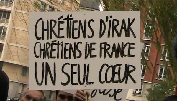 L'Eglise de France est solidaire des chrétiens d'Orient