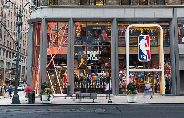 La NBA poursuivie pour ne pas avoir payé le loyer de sa boutique à New York