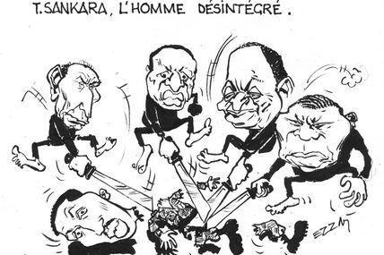 #LeSalutDuDessinSatiriquePasseParlAfrique / Le Gri-Gri est Ezzat ! (#Sankara)