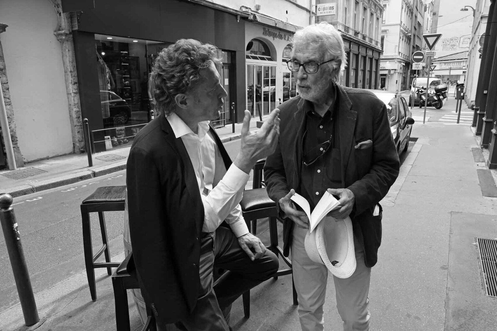 Philippe Bouchet, Pierre Buraglio