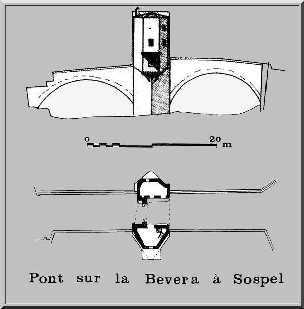 Diaporama pont fortifié de Sospel