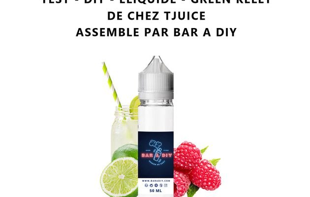 Test - Eliquide - Green Kelly de chez T Juice