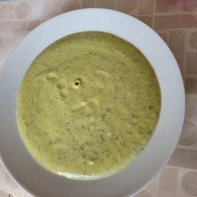 Crème de courgettes ( soupe )