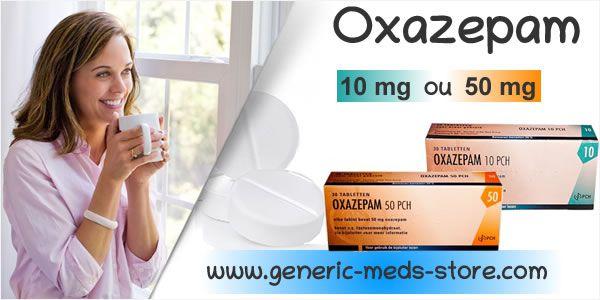 Oxazépam, myorelaxant efficace pour traiter l'anxiete et les crises d'angoisse