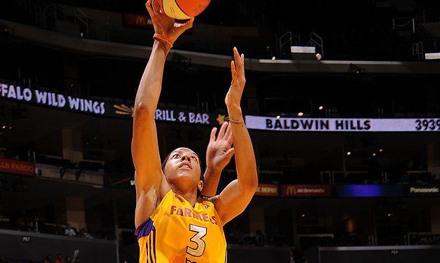 WNBA: Victoire des Sparks face au Minnesota