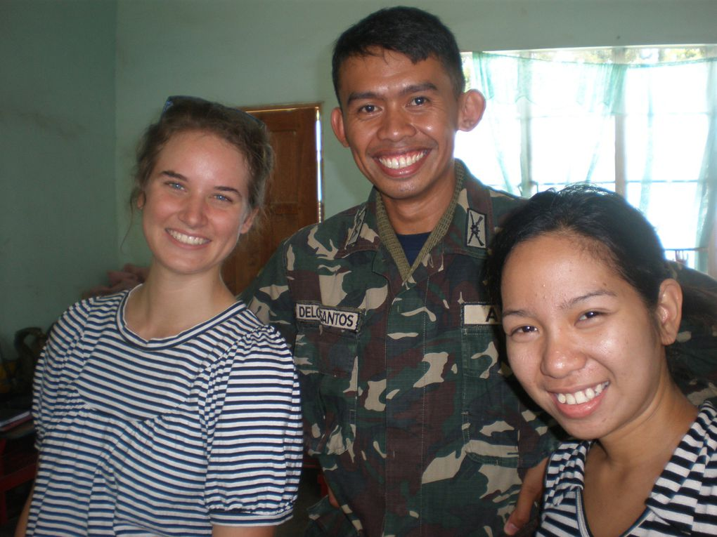 Tacurong: mission medicale avec l'armee philippine