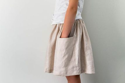 Gathered Skirt for A