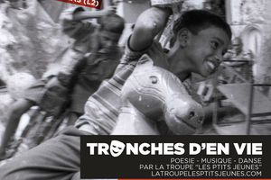 """""""Tronches D'en Vie"""" spectacle évolutif et total: Poésie-Musique-Danse-Théâtre!(Extraits vidéos)"""