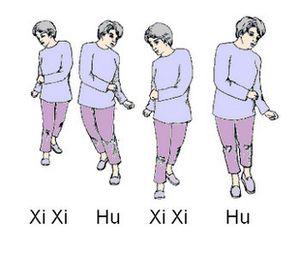 Les exercices du Guolin Qigong.