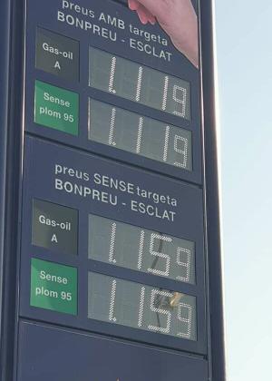 Nouveau tarif de l essence