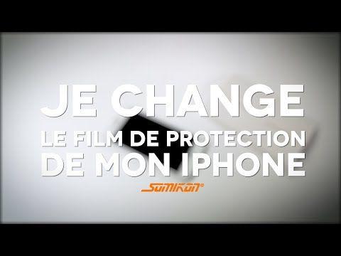 Changer la protection d'un smartphone - tuto vidéo