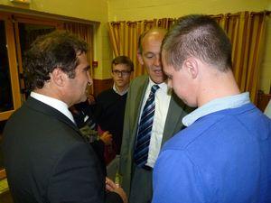 Retour sur la réunion publique avec Christian Jacob le 18 septembre 2013 à Wailly Beaucamp (4ème circonscription)
