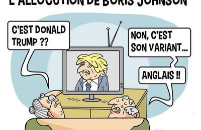 Boris Johnson variant anglais de Donald Trump