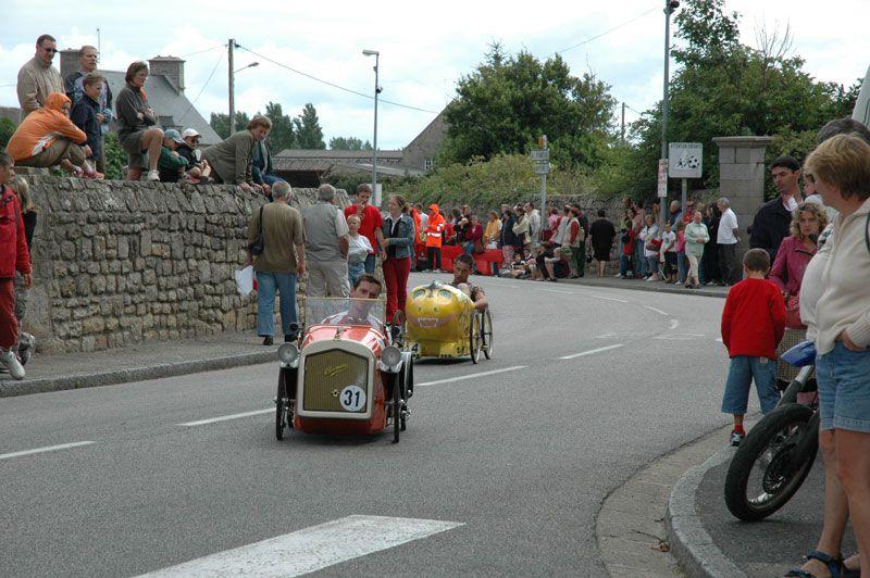 Voitures à pedales Réville 2005  2009 et 2011