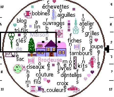 """SAL """"TAMBOUR DE BRODEUSE"""" - Objectif 1  (du 1er au 15 janvier)"""