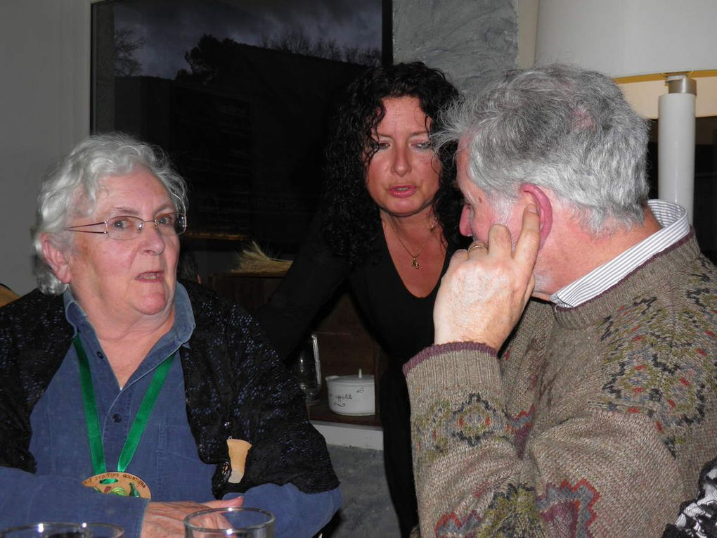 Repas de la Confrérie et de ses Amis à l'Ardoise de Saint-Pierre après l'assemblée générale de 2016.