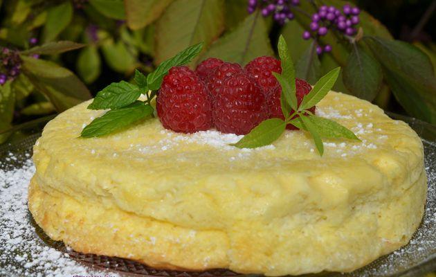 Cheesecake japonais citron vert et chocolat blanc