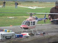DEs appareils un peu plus réel avec un Piper PA-18, un DH-112 Sea Venom et l'hélicoptère Bell 206 Jet Ranger.