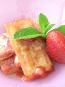 Fingers aux fraises .....