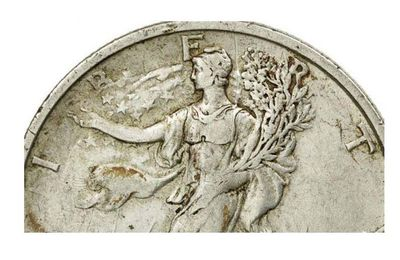 The Walking Liberty  Semeuse Monnaie Numismatie