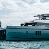 80 Sunreef Power - découverte de Great White, le motoryacht catamaran de Rafael Nadal - ActuNautique.com