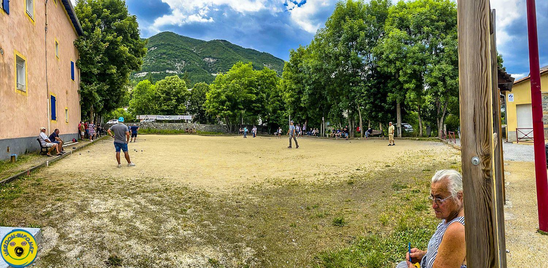St André les Alpes : jeu provençal challenge Jean Luc Gautier