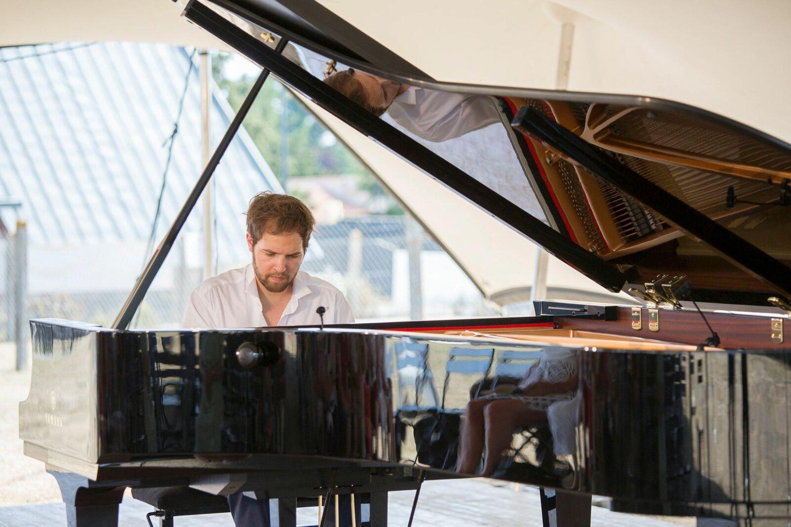 Franck Laurent-Grandpré,  un enchantement au piano !