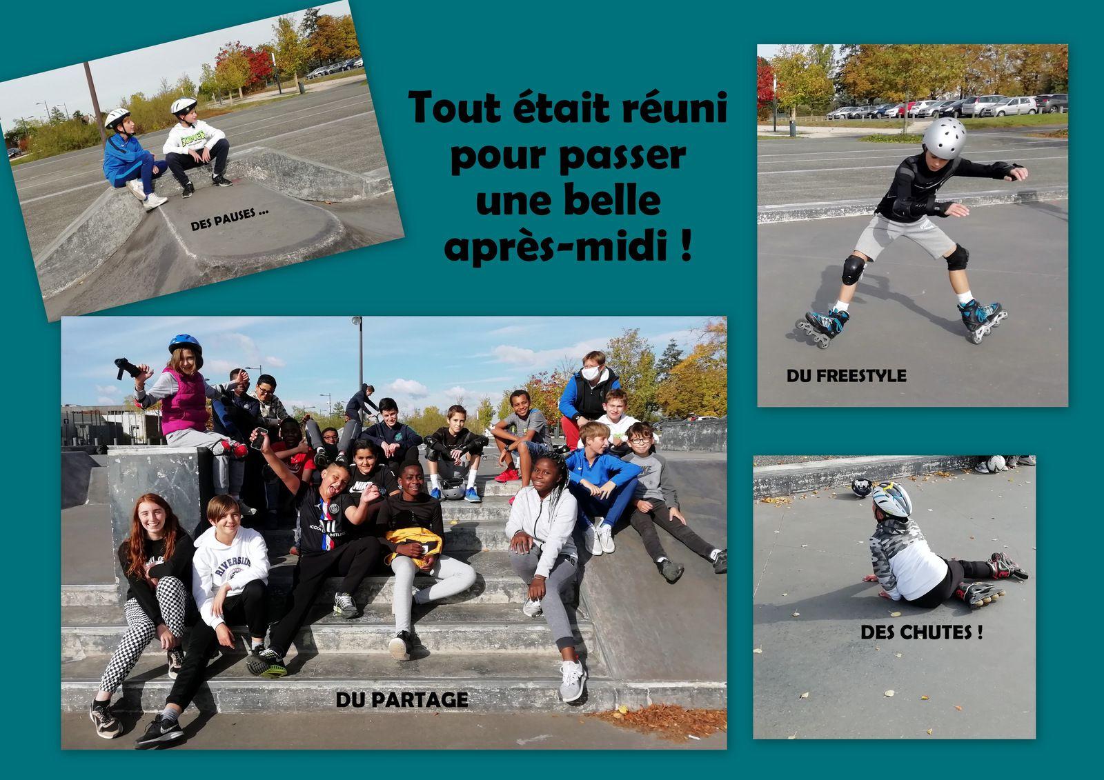Sortie au skate park - Mercredi 14 Octobre