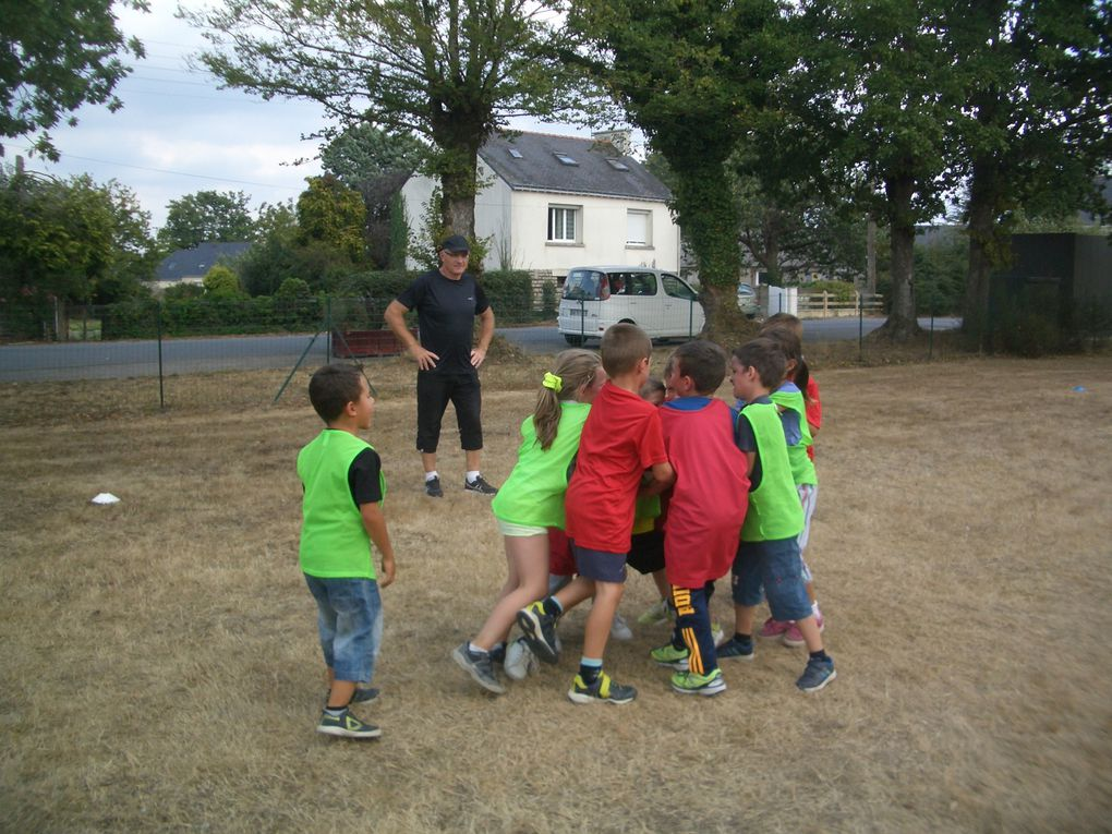 La rencontre des écoles autour du rugby