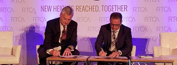 RTCA and EUROCAE sign updated Memorandum of Cooperation