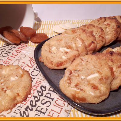Cookies Abricots  et chocolat blanc