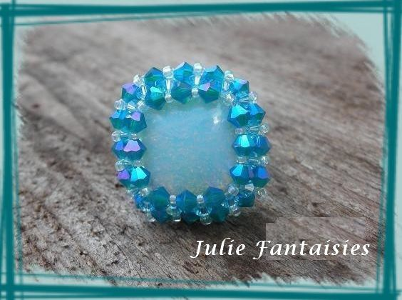 Bague Riva Turquoise AB
