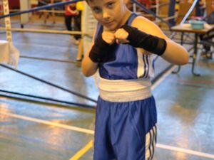 Boxe éducative au Cosec à Algrange en 2015