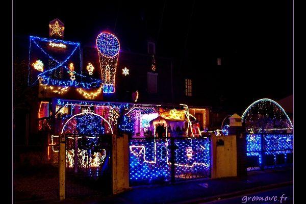 Maison illuminées
