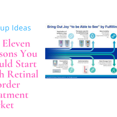 The Eleven Reasons You Should Start With Retinal Disorder Treatment Market
