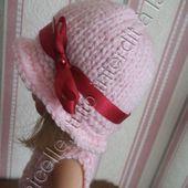 tuto gratuit paola reina: chapeau au ruban - laramicelle