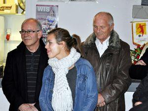 Juliane Gathrat championne du monde, récompensée à Algrange en 2012