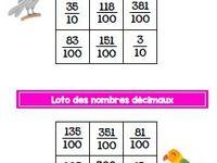 Loto des nombres décimaux - CM1-CM2