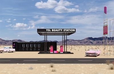 YVES SAINT LAURENT BEAUTY STATION COLLECTION
