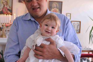 Baptême d'une petite zoréole gallicane à reims