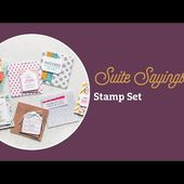Suite Sayings Stamp Set by Stampin' Up!