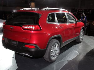 Le Jeep Cherokee s'expose à New York