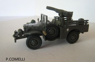 Dodge WC51  (base Solido - 1/50  par Patrick Comelli)