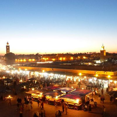 This is Marrakech