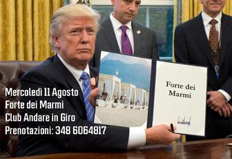 MERCOLEDI 11 AGOSTO: FORTE DEI MARMI, LE SUE SPIAGGE, IL SUO MERCATO